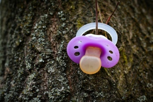 pacifier, tree, lost pacifier, wandering pacifier, baby, toddler,